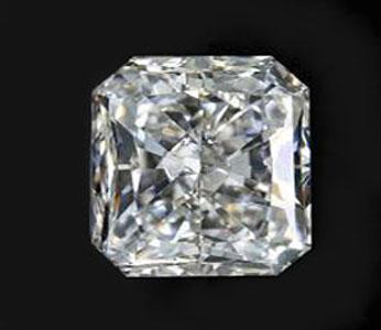 0,70 ct. radiant diamant VS2/G